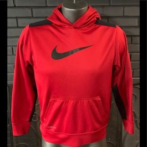 Nike Therma-Fit Hoodie Red Youth boy's XL